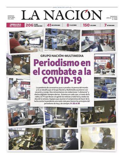 Edición impresa, 19 de abril del 2020