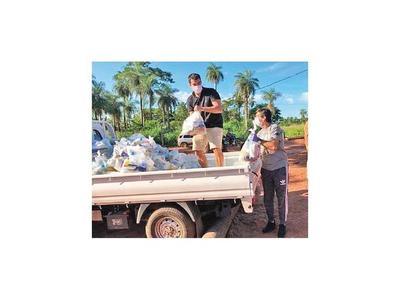El lado solidario de Gustavo Costas se vivió en Ypané