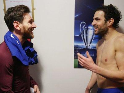 """Cesc: """"La idea de Messi siempre ha sido acabar su carrera en el Barcelona"""""""