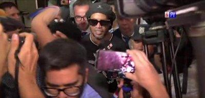 "El ""capricho"" que le cumplieron a Ronaldinho en hotel capitalino"