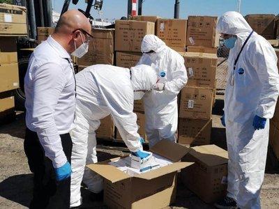 Diputados solicitan informes tras llegada de avión carguero con insumos médicos