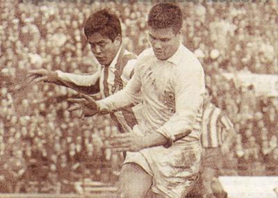 Ignacio Achucarro, en el once ideal de extranjeros del Sevilla