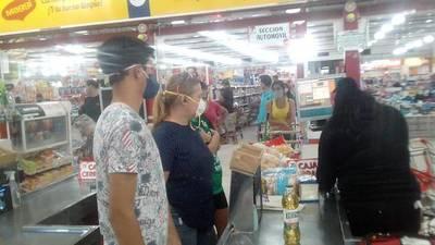 Desde hoy rige uso obligatorio de tapabocas para ingresar a supermercados