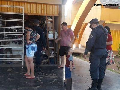 Delincuentes aprovecharon la cuarentena y desvalijaron una casilla