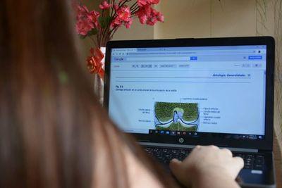 Estudiantes secundarios ya no participarán de clases virtuales