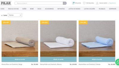 Las ventas online de Pilar tuvieron un incremento del 100% (y ya producen mascarillas)