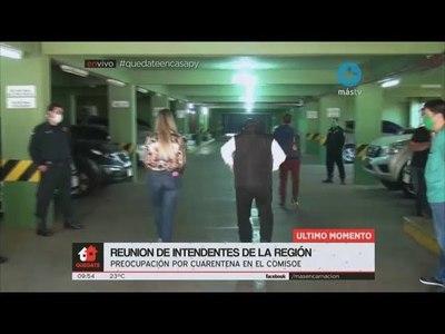 NI LAS AUTORIDADES SANITARIAS FUERON INFORMADAS SOBRE LA LLEGADA, MENCIONARON INTENDENTES