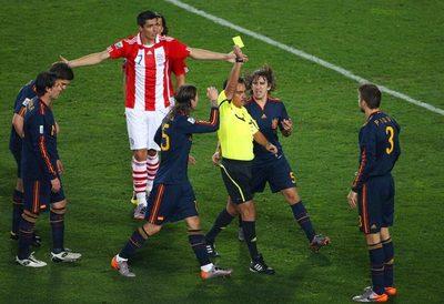 Fábregas confesó que España sintió miedo ante Paraguay en el Mundial de Sudáfrica 2010