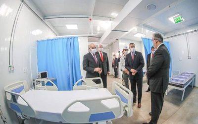 Inauguran hospital de contingencia del Covid-19 en el Ineram con 200 camas