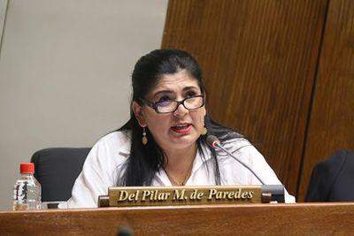 Admiten la imputación a la diputada Medina y fijan audiencia de imposición de medidas