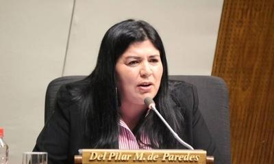 HOY / Admiten imputación y fijan fecha de imposición de medidas a diputada Del Pilar Medina
