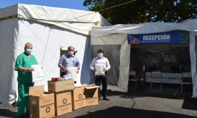 » CAFYF donó insumos de protección individual al Hospital del Barrio Obrero