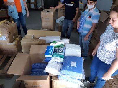 ONU entrega insumos médicos al Ministerio de Salud