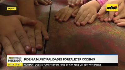 Piden a municipalidades fortalecer Codenis