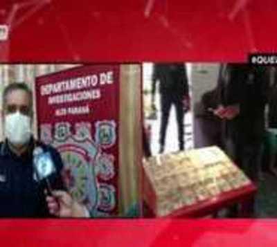 Capturan a presunto asaltante de cambista en CDE