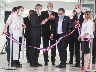 Inauguran segundo hospital de contingencia en predio del Hospital Nacional de Itauguá