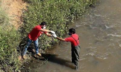 """Analizan cauces hídricos tras """"baja actividad humana"""""""