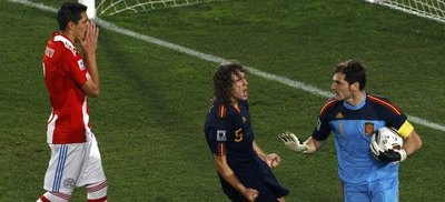 Iker Casillas incluyó a un paraguayo en su once ideal