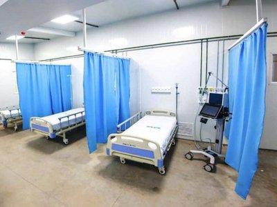 Segundo Hospital de Contingencia, listo en Itauguá con 102 camas