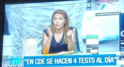 «Se hacen solo cuatro tests por día en Ciudad del Este»