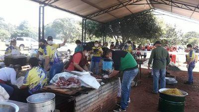 Brigadas solidarias organizan colectas para ollas populares