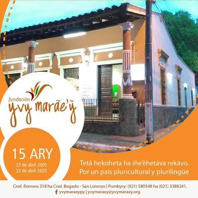 San Lorenzo: YVY MARÃE'Ỹ (Tierra sin Mal) cumple 15 años