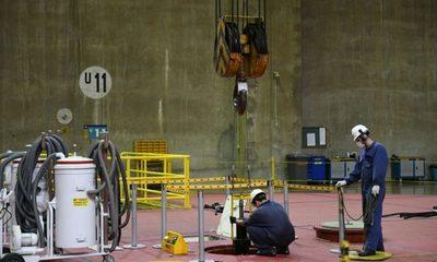 Mantenimiento de la Unidad Generadora 11 de Itaipú en etapa de conclusión