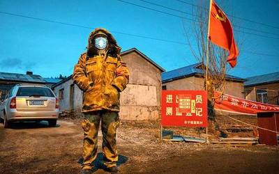 Nuevo brote de Covid-19 en China pone a 10 millones de personas en aislamiento