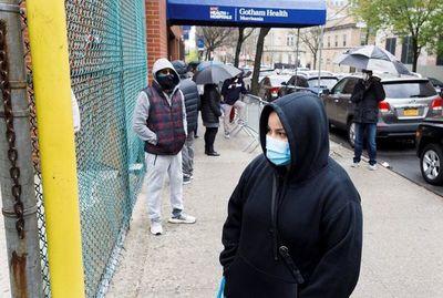 Coronavirus en Estados Unidos: pandemia de pobres
