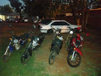 Más de 50 motos incautadas en las últimas horas en Alto Paraná