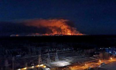 Incendio cerca de Chernobyl no aumentó radiación a niveles peligrosos