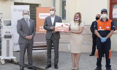 Copetrol dona al Ministerio de Salud ventilador pulmonar y 100 camas hospitalarias con colchones y entrega 1.000 kits de alimentos para paliar crisis por Covid-19
