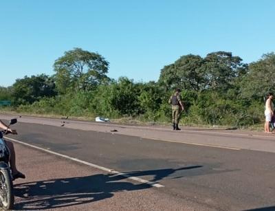 Ambulancia protagoniza fatal accidente en Paso Horqueta