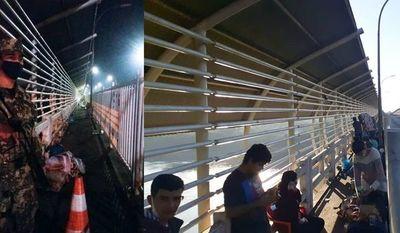 Puente de la Amistad fue liberado anoche y hoy amaneció con 45 compatriotas