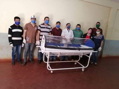 Internos del penal de PJC crearon cápsula para transportar pacientes con COVID-19