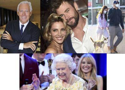 Los 94 sin fiesta de Isabel II, Armani es un señor y la cuarentena sigue…