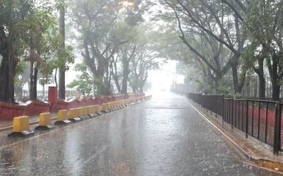 Anuncian lluvias y ocasionales tormentas eléctricas en algunas zonas del país