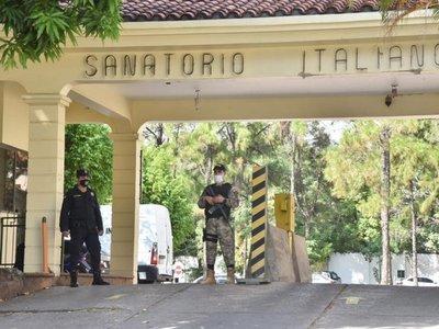 Descartan caso de Covid-19 en reo trasladado a sanatorio privado