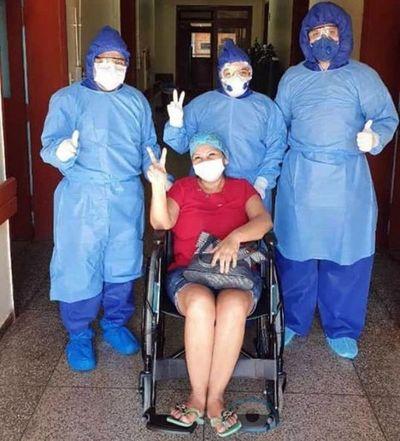 Dan alta a paciente con coronavirus en Hospital Regional de Amambay