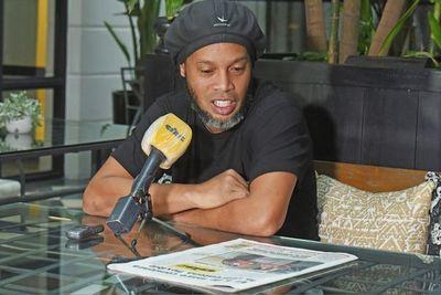 Ronaldinho, con ABC Color