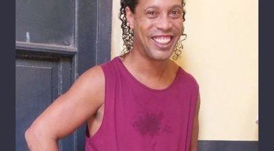 """""""Lo primero será dar un beso grande a mi madre"""", dijo Ronaldinho"""