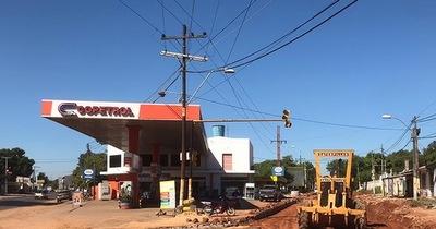 Informan sobre el avance de las obras en la avenida De la Victoria