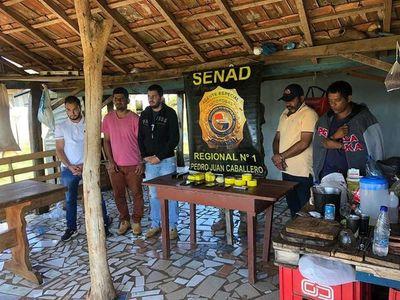Capturan a presuntos narcos en zona de frontera