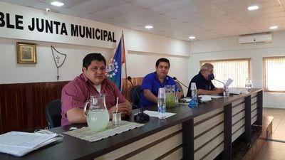 Concejales de Pedro Juan piden destitución de Roberto Acevedo