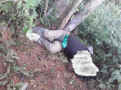 Hallan cadáver en descomposición y es sepultado en el mismo lugar por orden fiscal