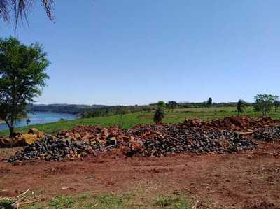 Grave DAÑO AMBIENTAL con instalación de CANTERA a orillas del río PARANA