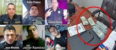 Cúpula POLICIAL y FISCALIA protegen a uniformados acusado de ROBOS y APRIETES en Minga Guazú
