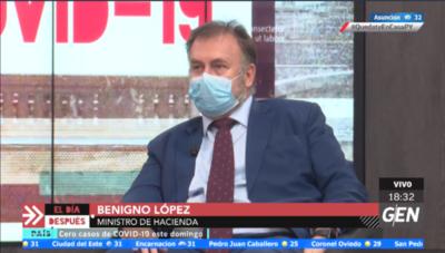 """Benigno López: """"Llegamos a casi 2 millones de personas"""""""