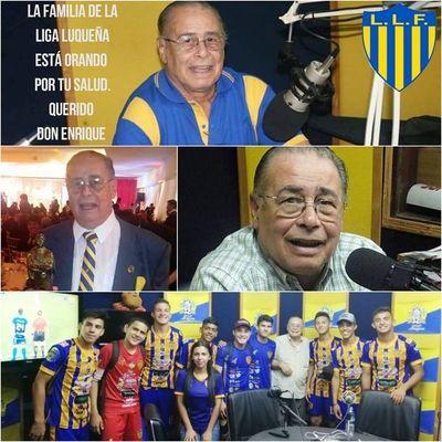 El periodismo deportivo luqueño está de luto: Falleció Enrique Zelaya •