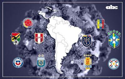 La pandemia suspendió el fútbol en Argentina y extiende la reanudación en Paraguay: ¿cómo están los demás países del continente?